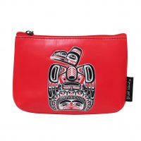 Bill Reid Red Coin Purse - Children of the Raven