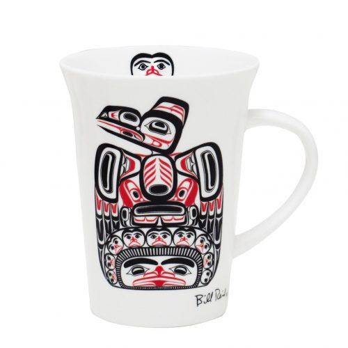 Bill Reid Porcelain Mug - Children of the Raven