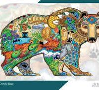 Sue Coccia Puzzle - Grizzly Bear