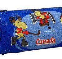 Hockey Moose Pencil Case