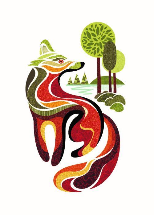Digital Print - Reno the Fox