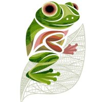 Digital Print - Flo the Frog