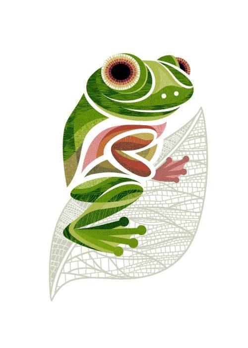 Digital Print - Flo the Frog