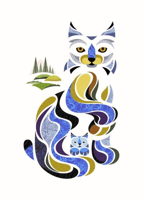 Digital Print - Lori the Lynx