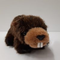 Natural Beaver Plush Toy