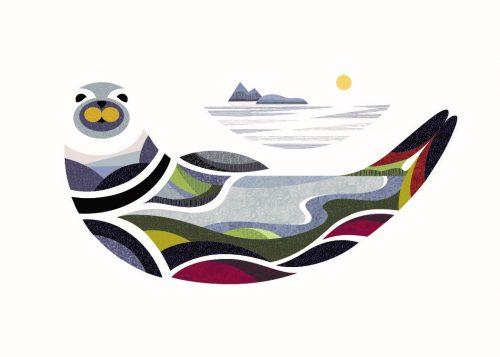 Digital Print - Felix the Seal