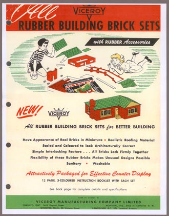 Rubber Building Brick Sets