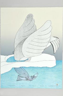 Timiaq Iqaluktuk (Bird caught its fish)