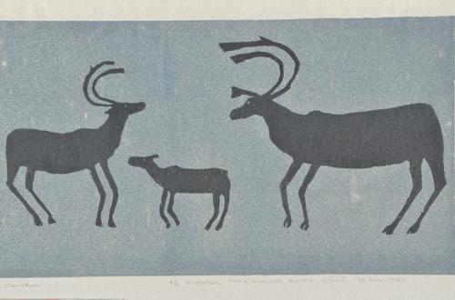 Three Caribous