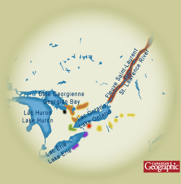 Map Of Canada 5 Great Lakes.Civilization Ca First Peoples Of Canada People Of The Longhouse