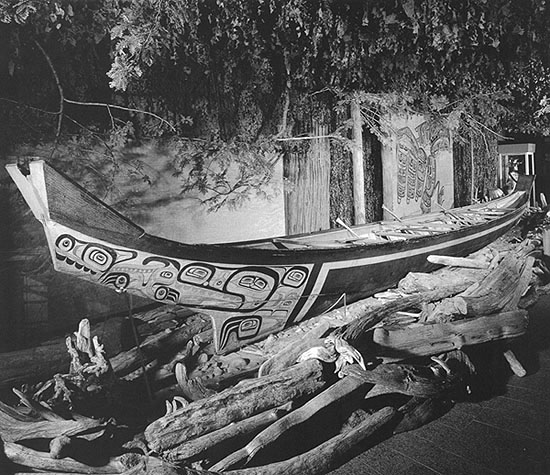 Civilization Ca Haida Haida Villages Canoes And Trade