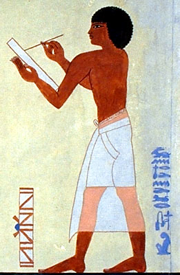 egyptian civilization - writing - scribes