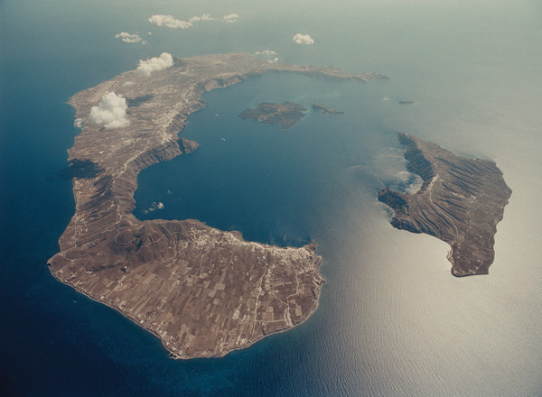 Greece Secrets Of The Past Volcanic Eruption At Thera