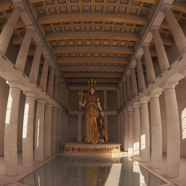 Greece secrets of the past the parthenon for Greek interior design history