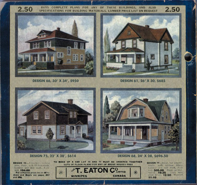 This was manitoba eaton 39 s catalogue houses for Catalog houses