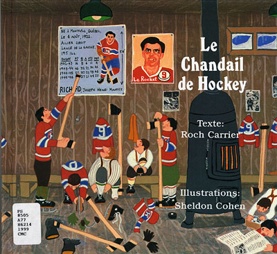 Page de couverture du conte de Roch Carrier,  Le 