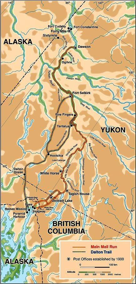 Civilizationca Map Of Yukon - Yukon river map
