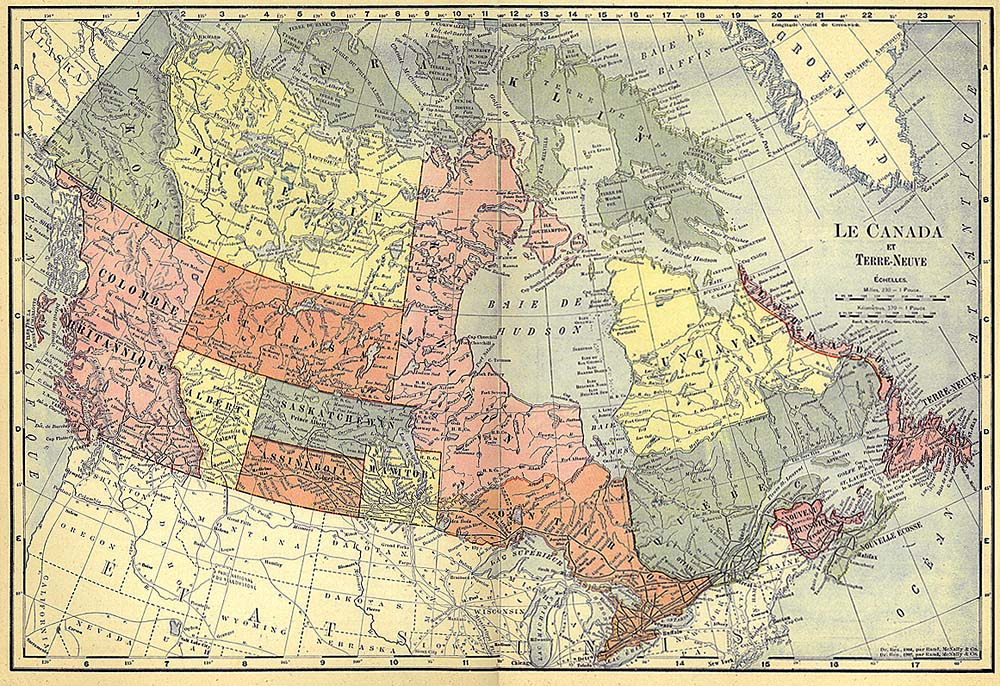 Civilizationca Advertising for immigrants to western Canada – Map of Canada Atlas
