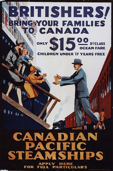 Civilization.ca - Advertising for immigrants to western ...