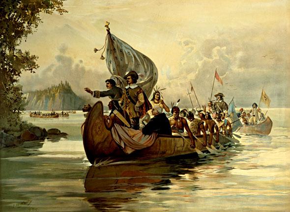 Canadian Personalities Samuel De Champlain