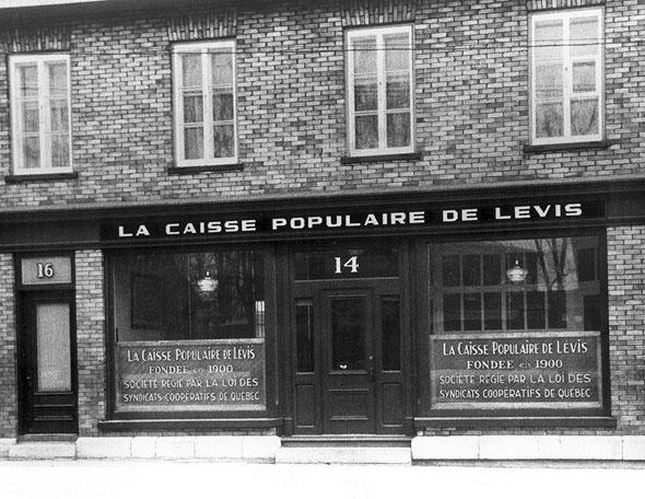 Canadian personalities alphonse desjardins for Caisse de jardin