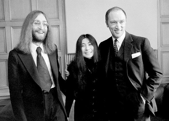 The Beatles Polska: Lennon i Ono zostają przyjęci przez Premiera Kanady Pierra Trudeau
