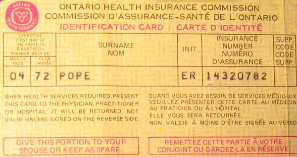 Carte Assurance Maladie Ontario.Civilisations Ca Histoire De L Assurance Maladie Au Canada