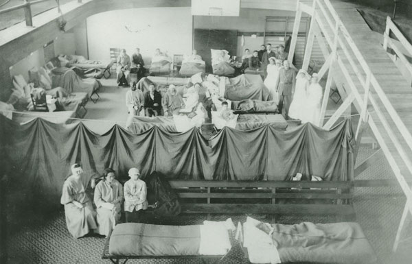 Photo Emergency Hospital Nova Scotia Archives Lola Henry Collection 1979 2378