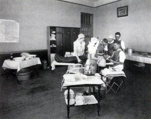 civilization ca history of canadian medicare  photo travelling clinic library and archives c 029449