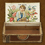 Cigar box label : Sweet Rose