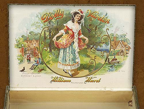 Cigar box label : La Bella Otero