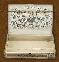 Cigar box label : Harvester
