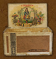 Cigar box label : Daily Double