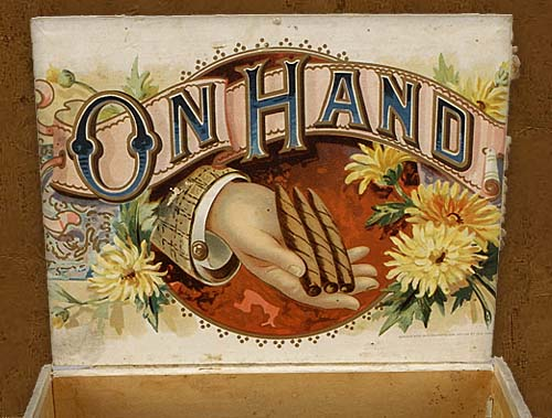 Cigar box label : El Presidente