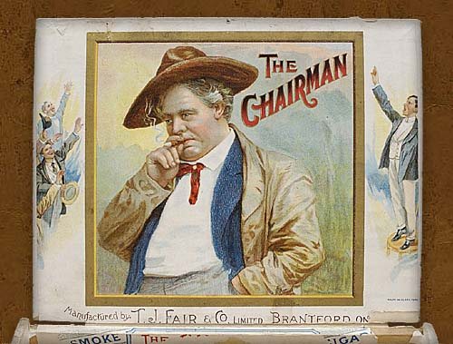 Cigar box label : Queens