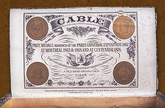 Cigar box label : Blue Ribbon