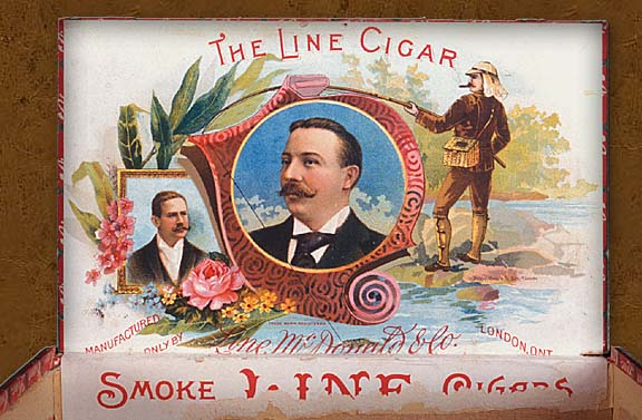 Cigar box label : Gold Fields, CMC 2004.38.35 | D2004-19458