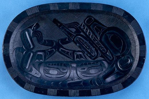 Civilization treasures gallery haida argillite carvings