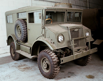 Old Fashioned Army Humvee
