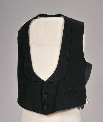 Three piece suit waistcoat