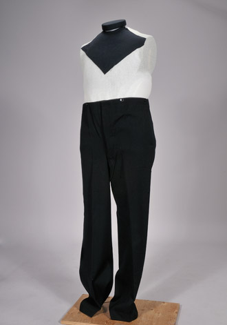Three piece suit pants