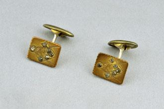 Masonic cufflinks