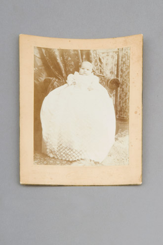 Photo, Marjorie Edith Holcroft In Baptismal Gown