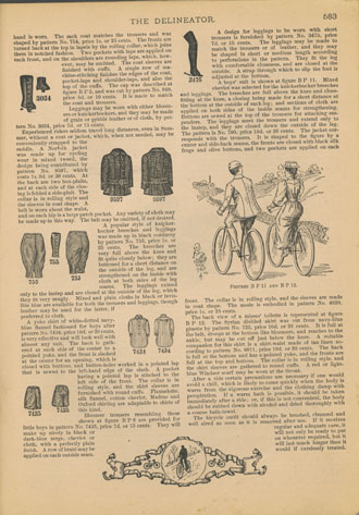 Bicycling and Bicycle Outfits
