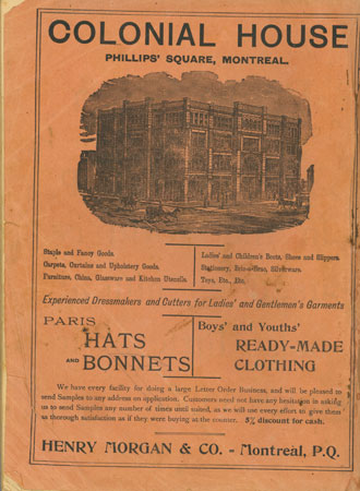 Colonial House - Hats and Bonnets trade