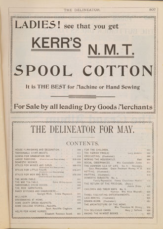 Spool cotton for machines or hand sewing