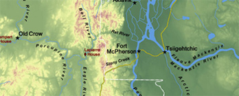 Northwest Territories and Yukon (Map 1)