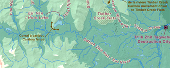 The Timber Creek region (Map)