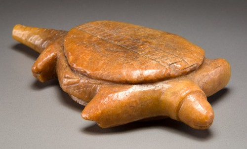 Turtle effigy