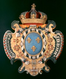 French royal coat of arms, c.1727